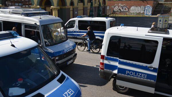 Автомобили полиции в Германии - Sputnik Беларусь
