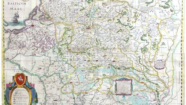 Карту ВКЛ XVII стагоддзя прэзентуюць у Мінску - Sputnik Беларусь