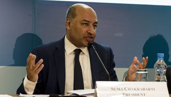 Президент Европейского банка реконструкции и развития (ЕБРР) Сума Чакрабарти - Sputnik Беларусь