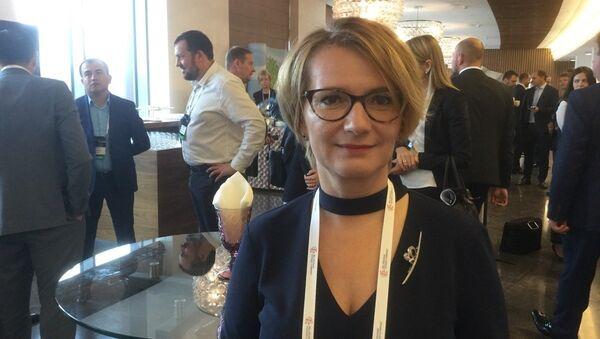 Генеральный директор БКК Елена Кудрявец - Sputnik Беларусь