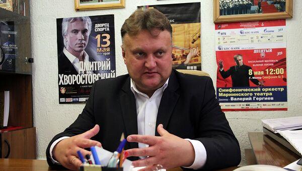 Дирижер Президентского оркестра Республики Беларусь Виктор Бабарикин - Sputnik Беларусь