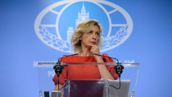 Официальный представитель министерства иностранных дел России Мария Захарова - Sputnik Беларусь