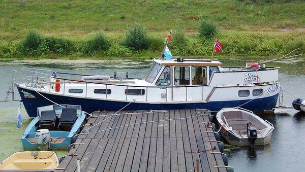 Яхта норвежцев в Речице - Sputnik Беларусь