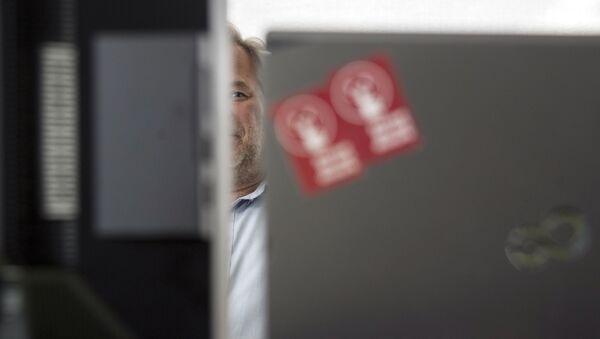 Яўген Касперскі ў офісе сваёй кампаніі - Sputnik Беларусь