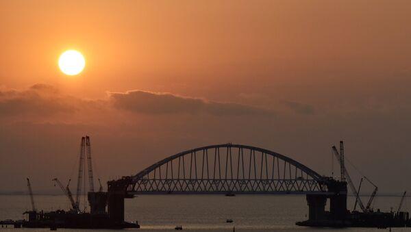 Будаўніцтва Крымскага маста - Sputnik Беларусь