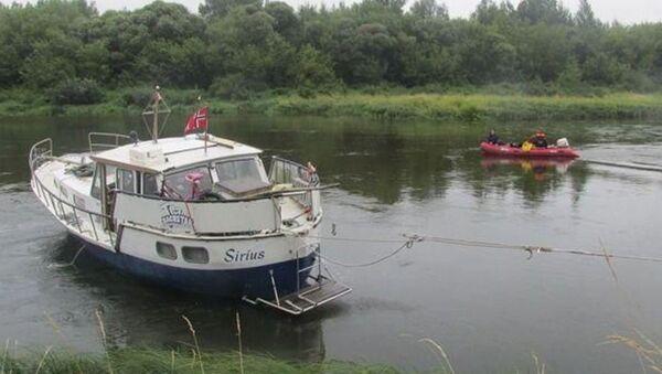 Нарвежская яхта зламалася пад Гомелем па шляху ў Турцыю - Sputnik Беларусь