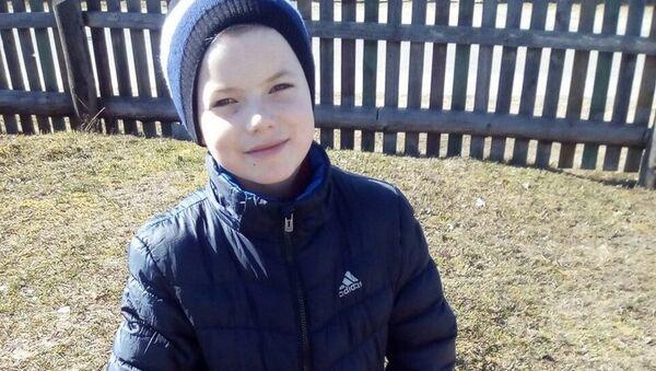 Десятилетнего Максима Мархалюка ищут вот уже два месяца - Sputnik Беларусь