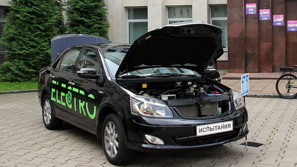 Белорусский электромобиль: восемьдесят километров без подзарядки - Sputnik Беларусь