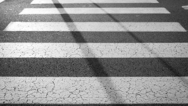 Пешеходный переход, архивное фото - Sputnik Беларусь