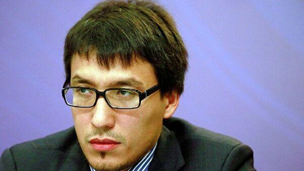 Политический эксперт Дмитрий Абзалов  - Sputnik Беларусь