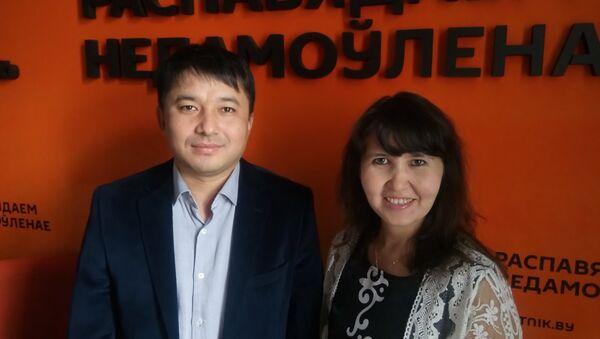 Жарахсан Кульпіенаў і Алія Далабаева - Sputnik Беларусь