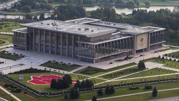 Дворец Независимости (вид сверху) - Sputnik Беларусь