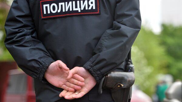 Сотрудники полиции, архивное фото - Sputnik Беларусь