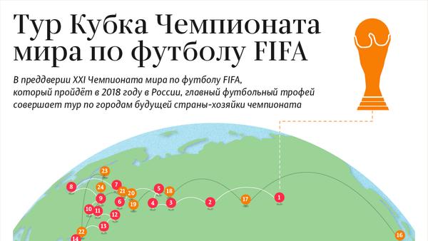 Тур Кубка Чемпионата мира по футболу FIFA – инфографика на sputnik.by - Sputnik Беларусь