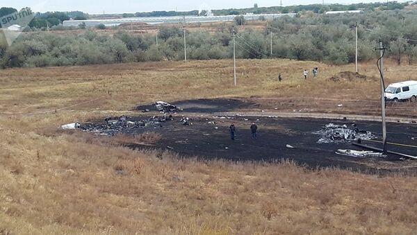 Место крушения самолета АН-28 близ Алматы, Казахстан - Sputnik Беларусь