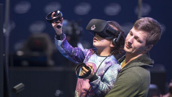 На выставе віртуальнай рэальнасці - Sputnik Беларусь