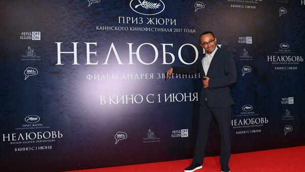 Режиссер Андрей Звягинцев на премьере своего фильма Нелюбовь - Sputnik Беларусь