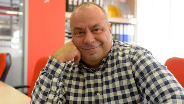 Алег Дзмітрыеў - Sputnik Беларусь