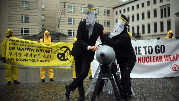Активисты ICAN в Берлине - Sputnik Беларусь