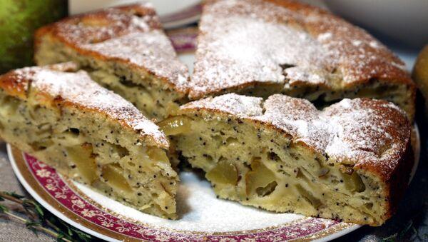 Осенний пирог с грушами и маком - Sputnik Беларусь