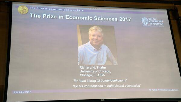 Эканаміст Рычард Талер атрымаў Нобелеўскую прэмію па эканоміцы - Sputnik Беларусь