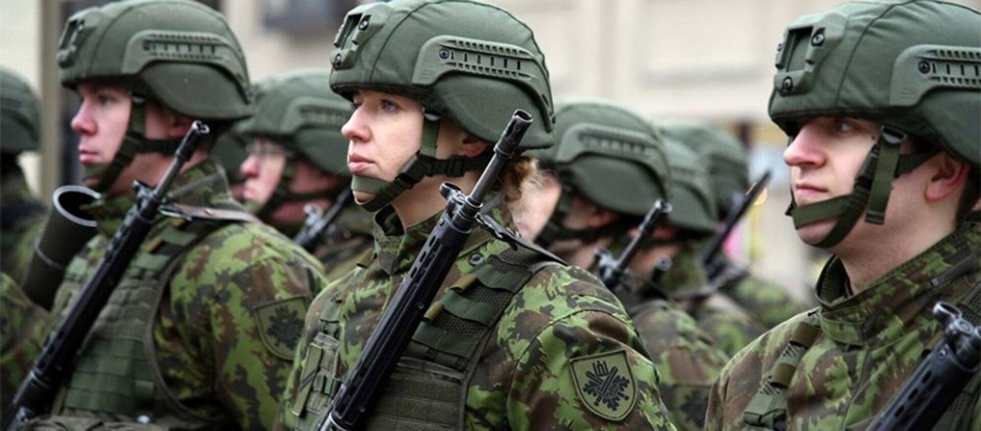 Военнослужащие армии Литвы - Sputnik Беларусь, 1920, 06.02.2021