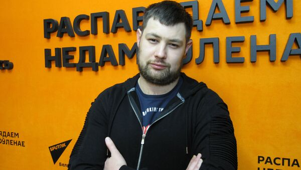 Врач-психиатр, нарколог Городского клинического наркологического диспансера Антон Сайков - Sputnik Беларусь