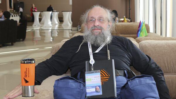 Публицист, журналист, телеведущий, политический консультант, многократный победитель интеллектуальных телеигр Анатолий Вассерман - Sputnik Беларусь