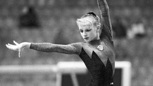 Украинская гимнастка Татьяна Гуцу - Sputnik Беларусь