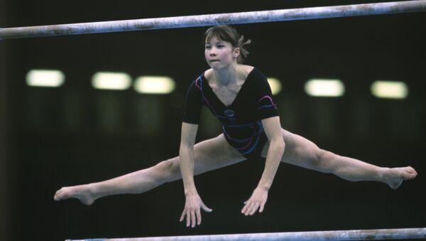 Гимнастка Светлана Богинская, архивное фото - Sputnik Беларусь