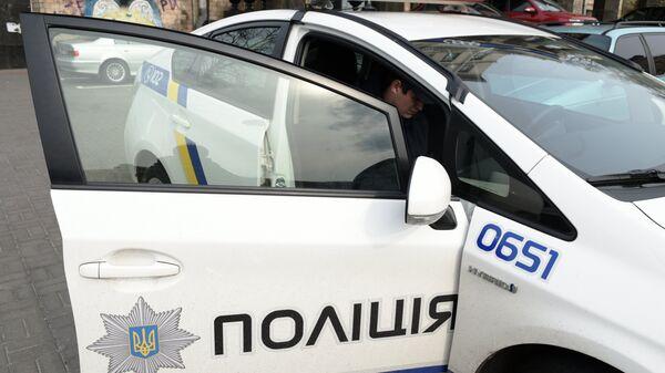 Сотрудники Украинской полиции в Киеве - Sputnik Беларусь