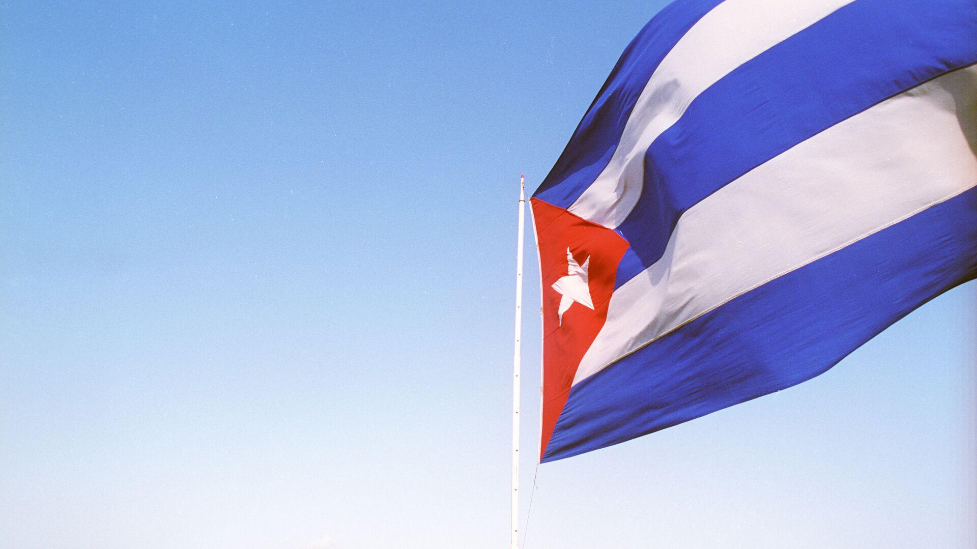 Государственный флаг Республики Куба - Sputnik Беларусь, 1920, 08.10.2021