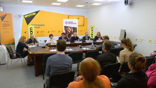 Пресс-конференция, посвященная форуму Театр и аутизм. Вопросы и ответы - Sputnik Беларусь