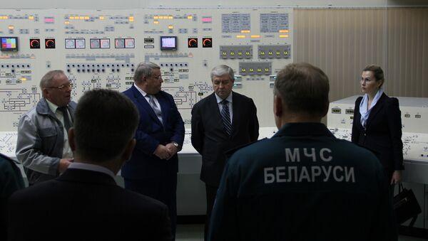 Вице-премьер Беларуси Владимир Семашко подвел итоги планового учения МЧС вместе с Минэнерго - Sputnik Беларусь