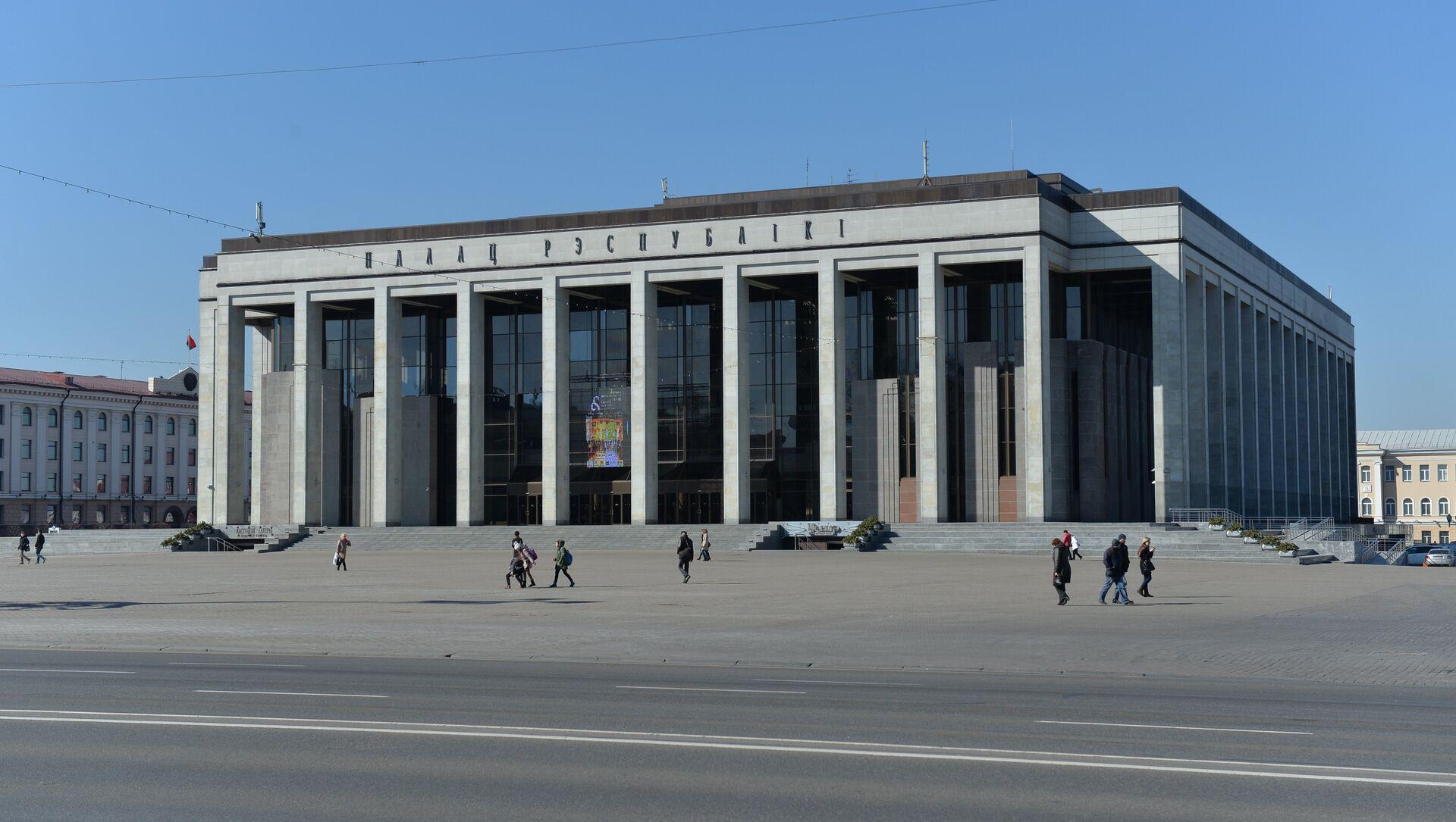 Палац Рэспублікі і Кастрычніцкая плошча - Sputnik Беларусь, 1920, 10.02.2021