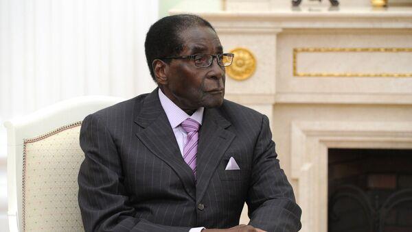 Президент Республики Зимбабве Роберт Мугабе - Sputnik Беларусь