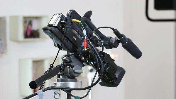 Видеокамера, архивное фото - Sputnik Беларусь