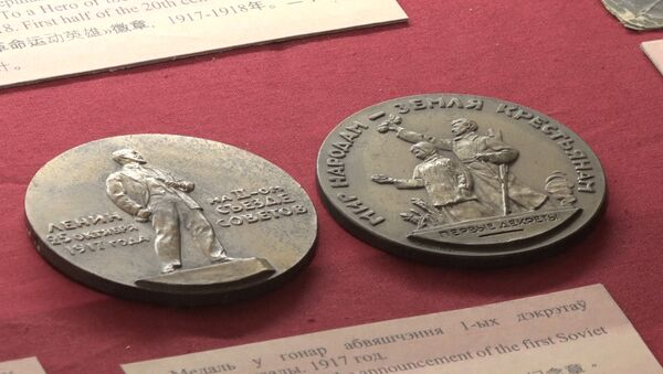 У Мінску аднавілі рэвалюцыйную абстаноўку 1917 года - Sputnik Беларусь