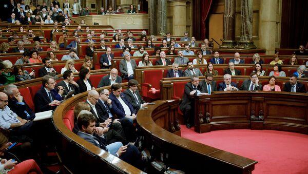 Парламент Каталонии - Sputnik Беларусь