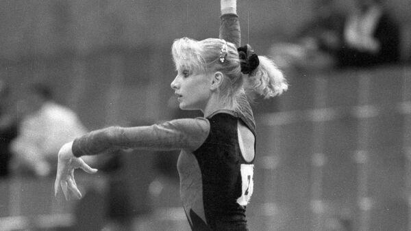 Гимнастка Татьяна Гуцу, архивное фото - Sputnik Беларусь