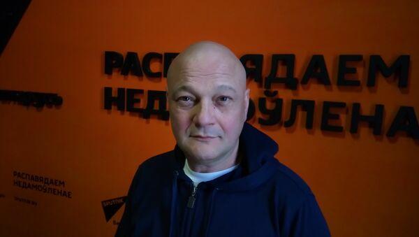 Вядомы расійскі кінарэжысёр, акцёр, прадзюсар Сяргей Гінзбург - Sputnik Беларусь