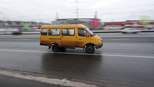 Маршрутные такси - Sputnik Беларусь