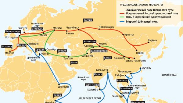 Стратегия экономического развития «Один пояс — один путь» - Sputnik Беларусь
