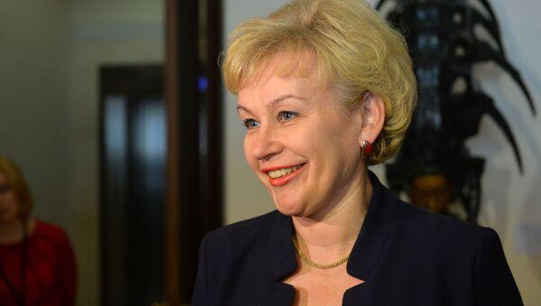 Министр труда и социальной защиты Беларуси Ирина Костевич - Sputnik Беларусь