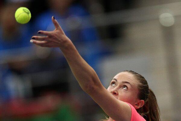 Александра Саснович в финале Кубка Федерации по теннису - Sputnik Беларусь