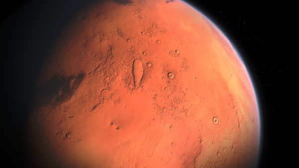 Планета Марс, архіўнае фота - Sputnik Беларусь