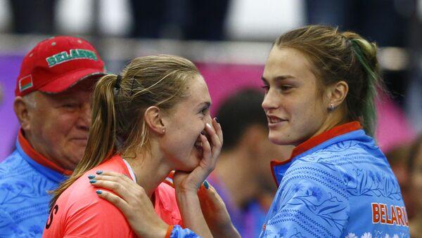 Аляксандра Сасновіч і Арына Сабаленка - Sputnik Беларусь