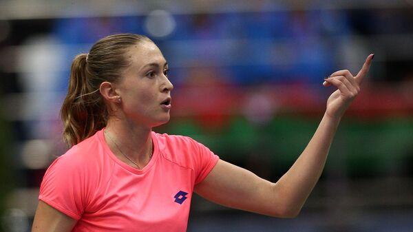 Александра Саснович в одиночной встрече против Коко Вандевеге - Sputnik Беларусь