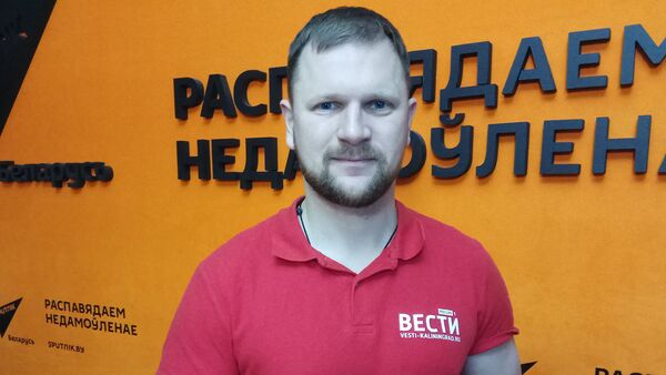 Старшыня ДТРК Калінінград, расійскі журналіст і тэлевядучы Мікалай Далгачоў - Sputnik Беларусь