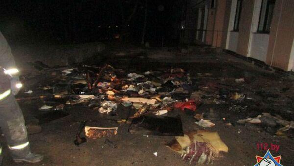 Спасатели ликвидировали пожар в общежитии в Витебске - Sputnik Беларусь